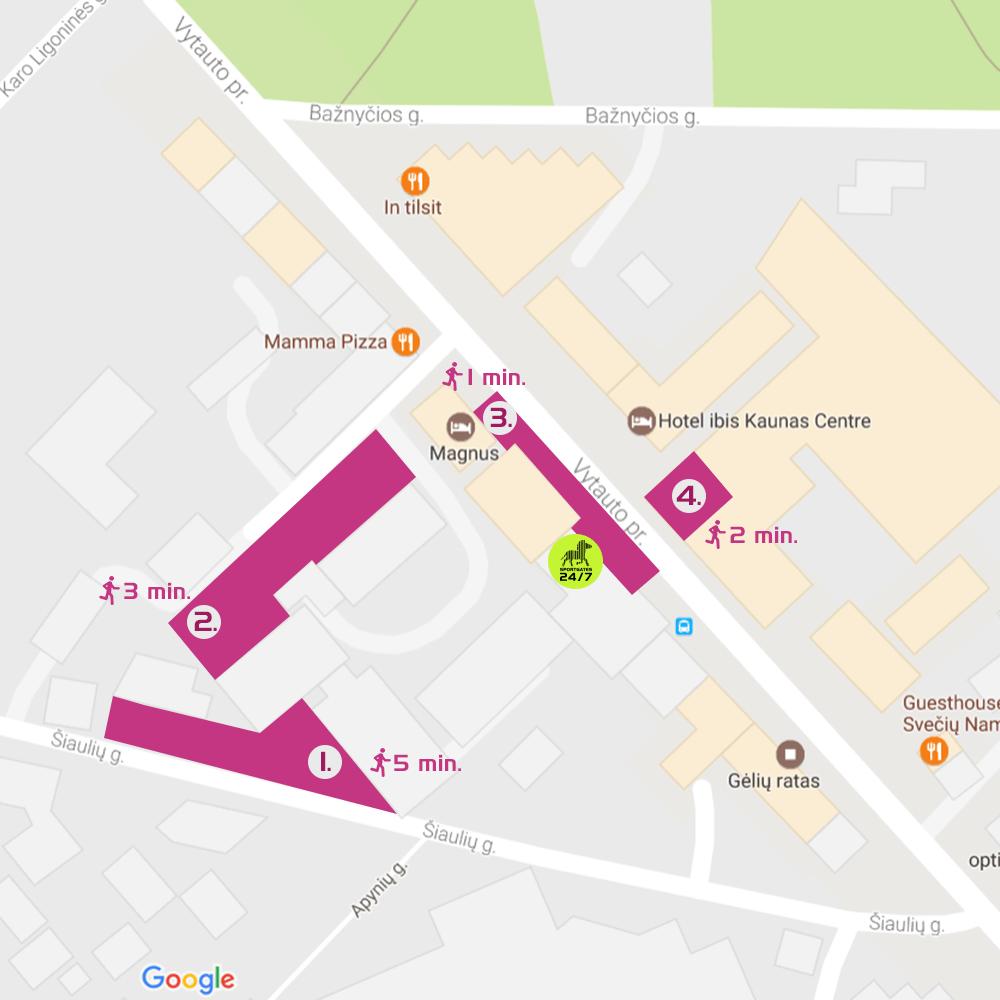 """Šalia Kauno """"SportGates"""" – parkavimo aikštelės!"""