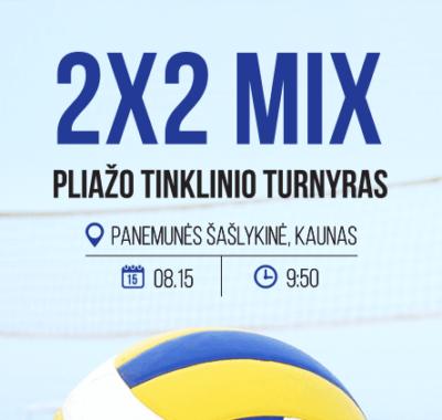 SportGates 2×2 mix B,C ir D lygio pliažo tinklinio turnyras